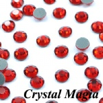 4mm Crystal Clear Hot Fix Rhinestone/Diamante
