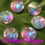 glass sew on strass 12mm rivoli